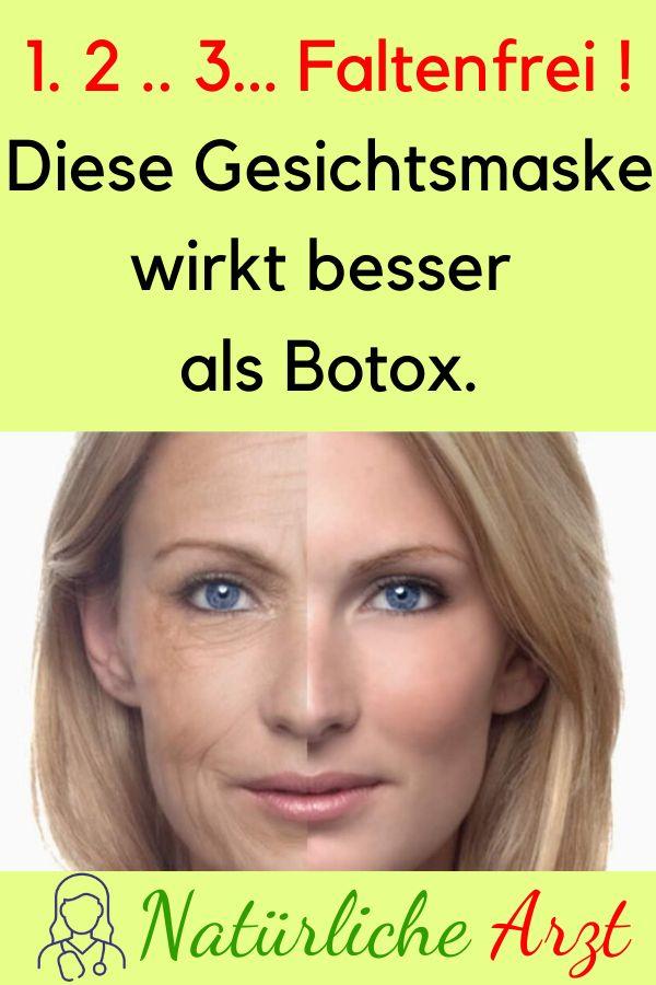 1. 2 .. 3… Faltenfrei ! Diese Gesichtsmaske wirkt besser als Botox. #Botox #Fa...,  #als #besser #bestnaturalskincare #Botox #Diese #Faltenfrei #Gesichtsmaske #wirkt