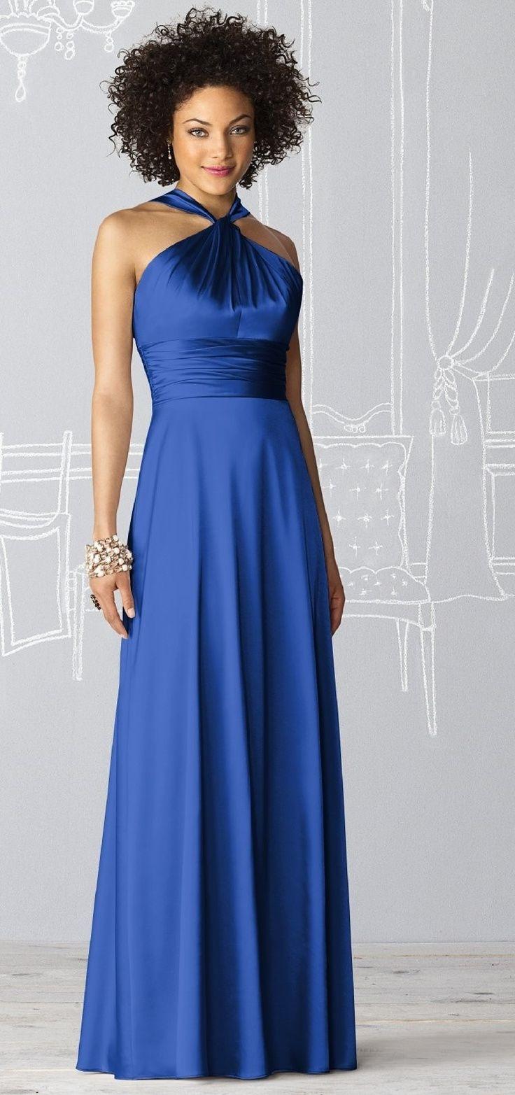 Vestido de formatura azul                                                                                                                                                                                 Mais