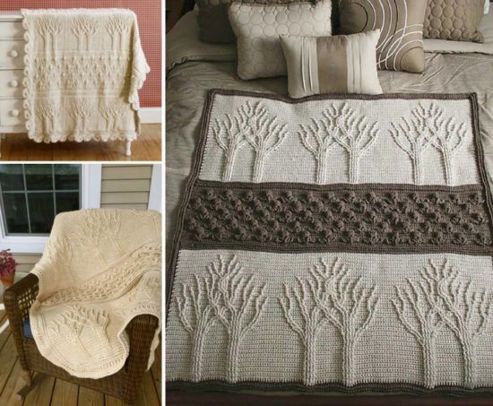 Tree Of Life Crochet Afghan Pattern Free Tutorial | The WHOot