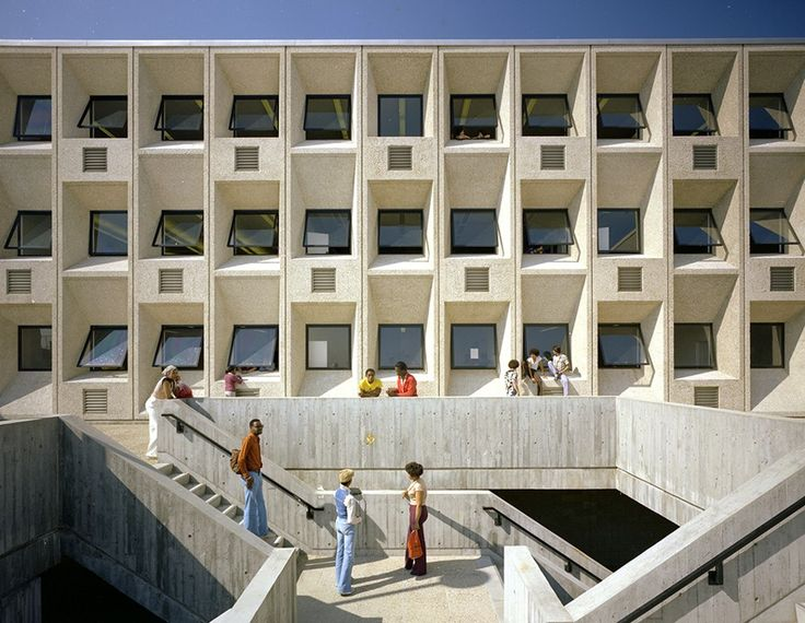 The Case For Calling Brutalism U0027Heroicu0027 Instead / @markbyrnes525 + Citylab    # · Concrete ArchitecturePhoto And VideoMarcel BreuerHigh SchoolsBostonUrban  ...