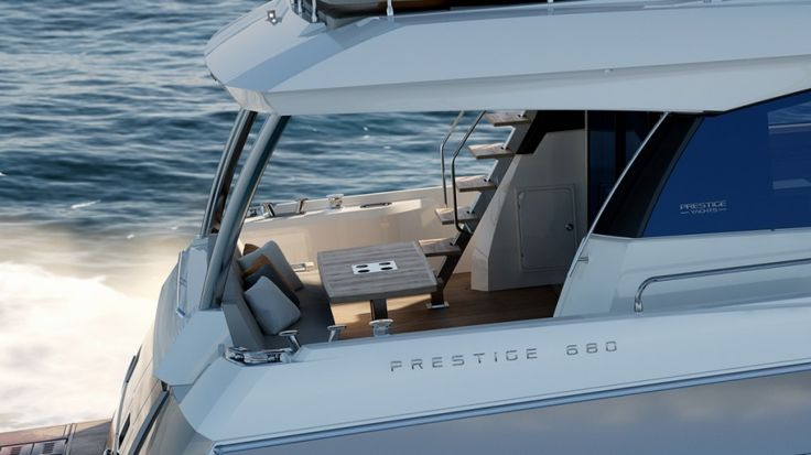 Prestige 680 - Kat Marina - cockpit