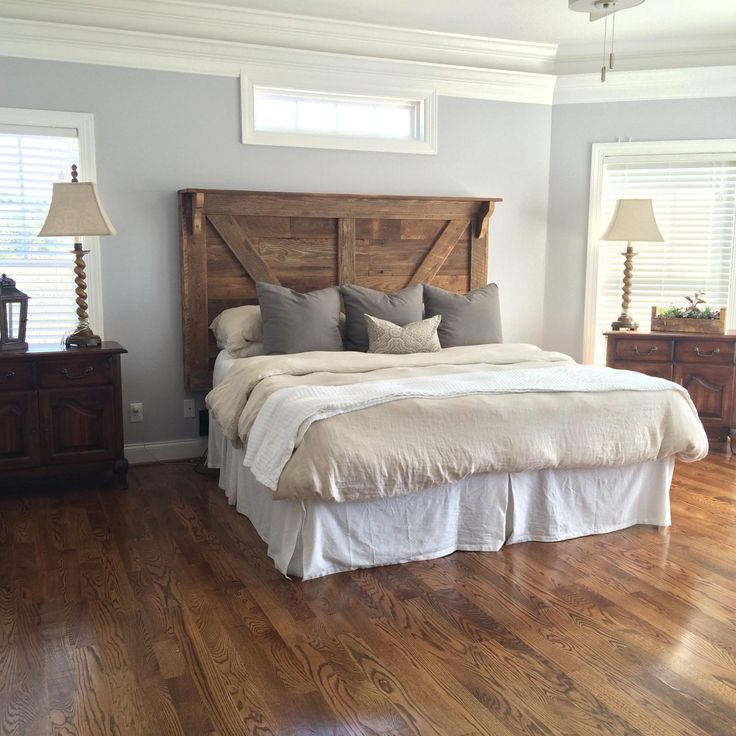 A beautiful headboard we built for one