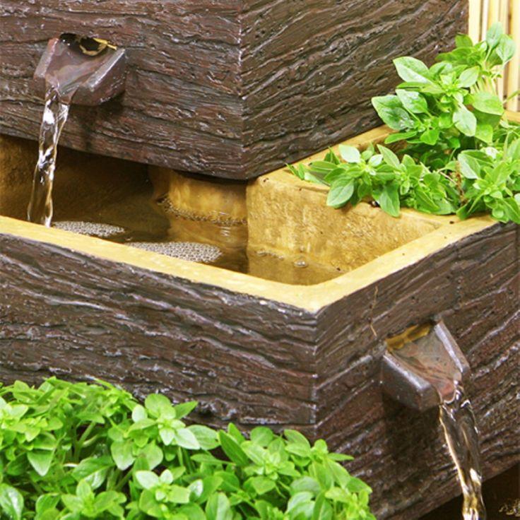 ... Giardino su Pinterest  Fontane cortile, Cascata da giardino e Cascata