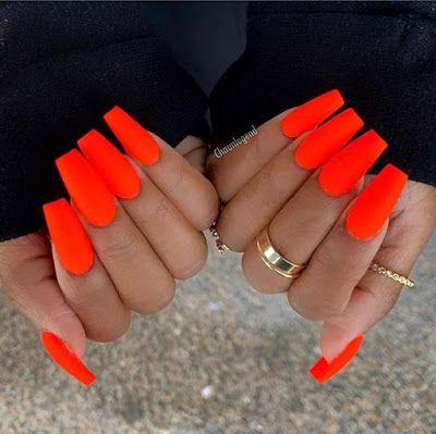 💅Inspiraties van «Nail Art» en manicure-effect neon- en fluokleuren 149 …