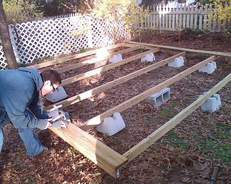 floating deck   ... how i made a floating deck the advantage of a floating deck is that it