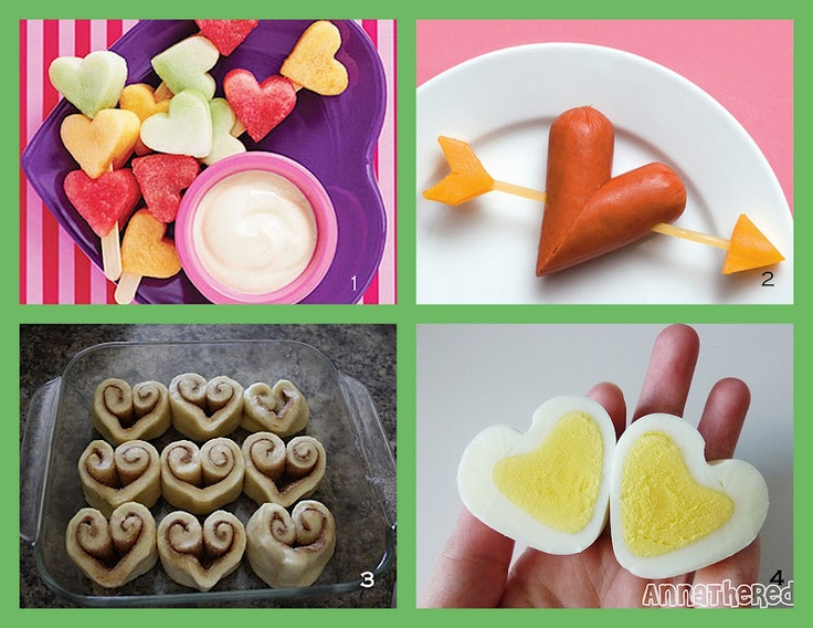 Heart-Shaped Foods II -  Pinned by @PediaStaff – Please Visit http://ht.ly/63sNt for all our pediatric therapy pins