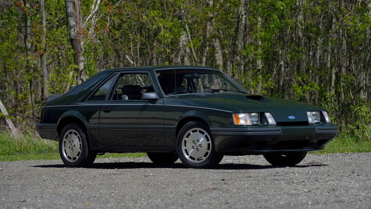 1985 Ford Mustang SVO presented as Lot S129 at Harrisburg, PA