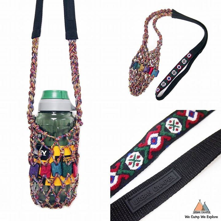 Inspired by the rush bottle carrier seen in Cambodia, we design bottle carrier by knotting with various ropes and beadings with happy colours. Our bottle carriers go perfectly with REUSABLE bottles.  因一次在柬埔寨看到藺草(鹹水草)編織的水樽袋,促成了此系列誕生。運用不同素材及繩結製作,鼓勵自攜水樽好習慣。  Handmade in Hong Kong 香港手造  **Plus HK$22 (registered mail) or pay the delivery fee when receive at S.F Express store for each purchase. Please inbox to order. **郵費 HK$22 (掛號) 或 順豐站到付。歡迎私訊。 #outdoors, #campinggear, #fishinggear…