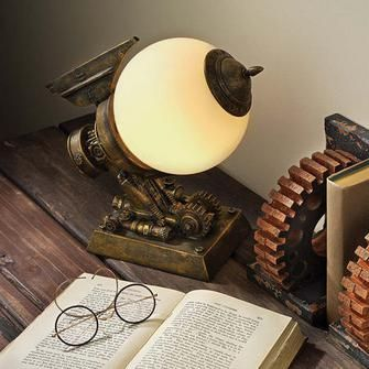 Perfect Futuristic Fantasy Airship Steampunk Battle Ship Frosted Orb Statue Lamp In  Collectibles, Lamps, Lighting, Lamps: Electric Images