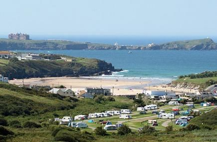 Holiday Park in Newquay Cornwall | Campsite Cornwall | Caravan park Cornwall | Porth Beach Tourist Park | Newquay | Cornwall