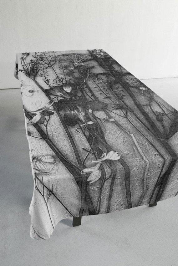 Tafellaken Tafelboeket - Nienke Sybrandy - BijzonderMOOI* - Dutch design