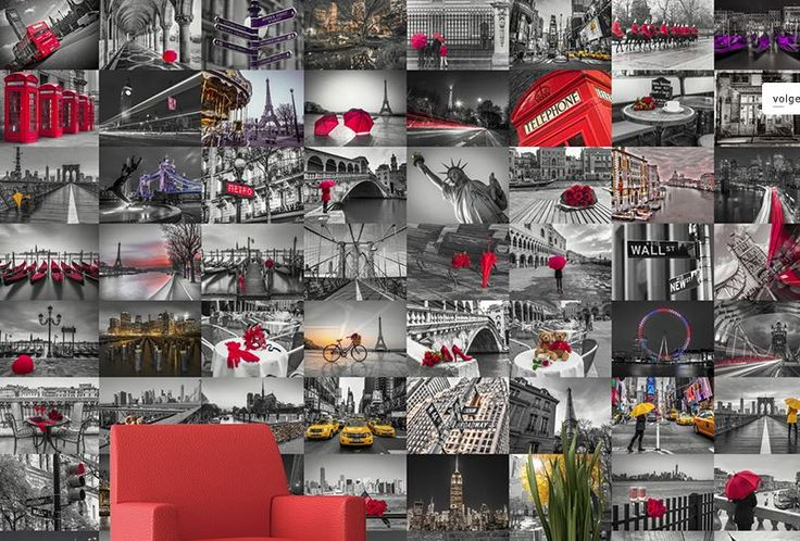 Noordwand Creative Collage Wallpaper. Verkrijgbaar bij Deco Home Bos in Boxmeer. www.decohomebos.nl