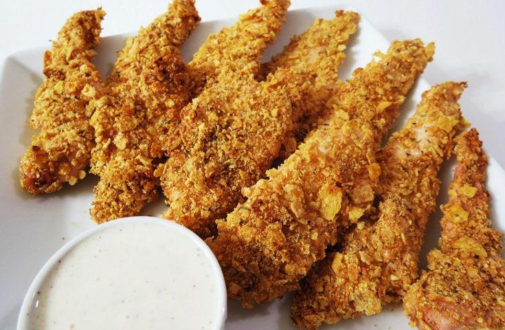 Csodás ropogós csirkefalatkák, különleges sajtos panírban! Gyors és ínycsiklandó főétel