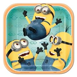 Despicable Me Dessert Plates #kids #birthday #partycheap