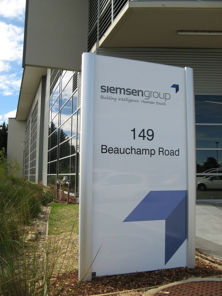 Siemson Group #business #sign #CSI #identity #corporate #signage