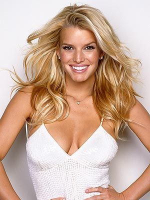 Jessica Simpson- she always said if she didn't sing, she would do make-up and it shows