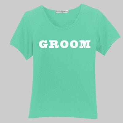 Groom - in white