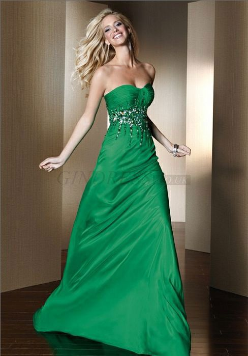 14 best images about emerald green dresses on pinterest
