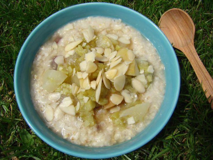 Rebarborový porridge