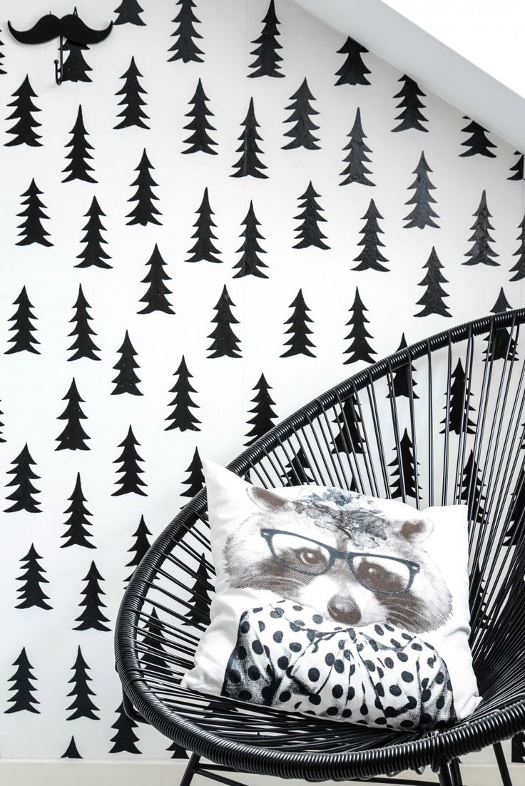 Our lovely wallpaper Spruce by Fine little day: http://www.photowall.co.uk/photo-wallpaper/spruce-white