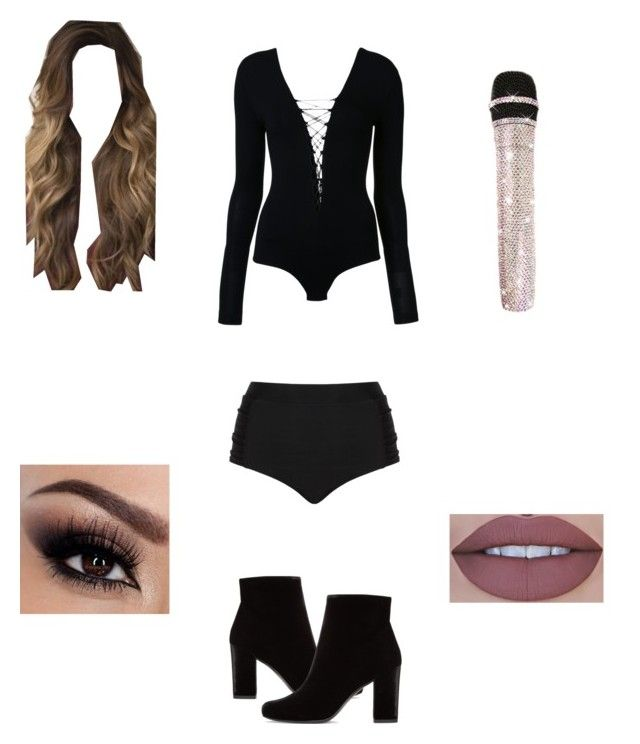 Stage outfit by itsnina101 on Polyvore featuring polyvore, fashion, style, T By Alexander Wang, Cactus, Yves Saint Laurent and clothing