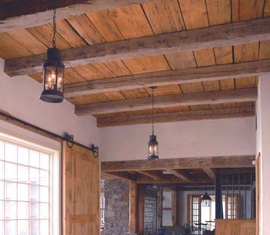 36 Great Exposed Beam Ceiling Lighting Ideas | Exposed ...