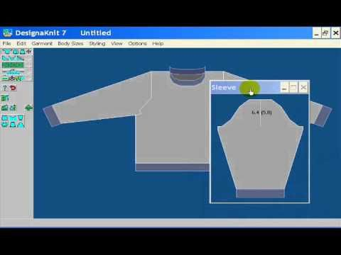 DesignaKnit Standard Garment Styler Video - YouTube