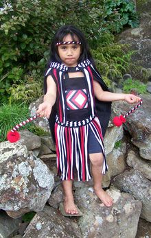 New Zealand - Kapahaka Costumes. Would love one of these in the dress up corner!