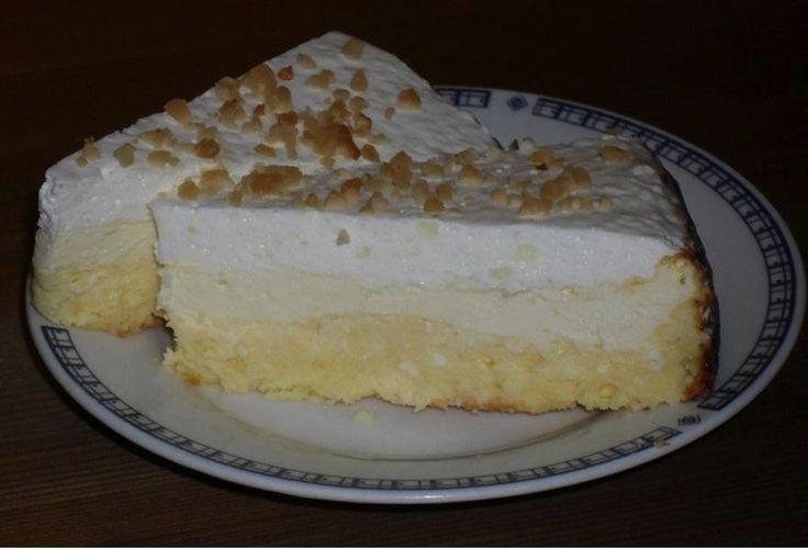 Smotanový koláč s tvarohom