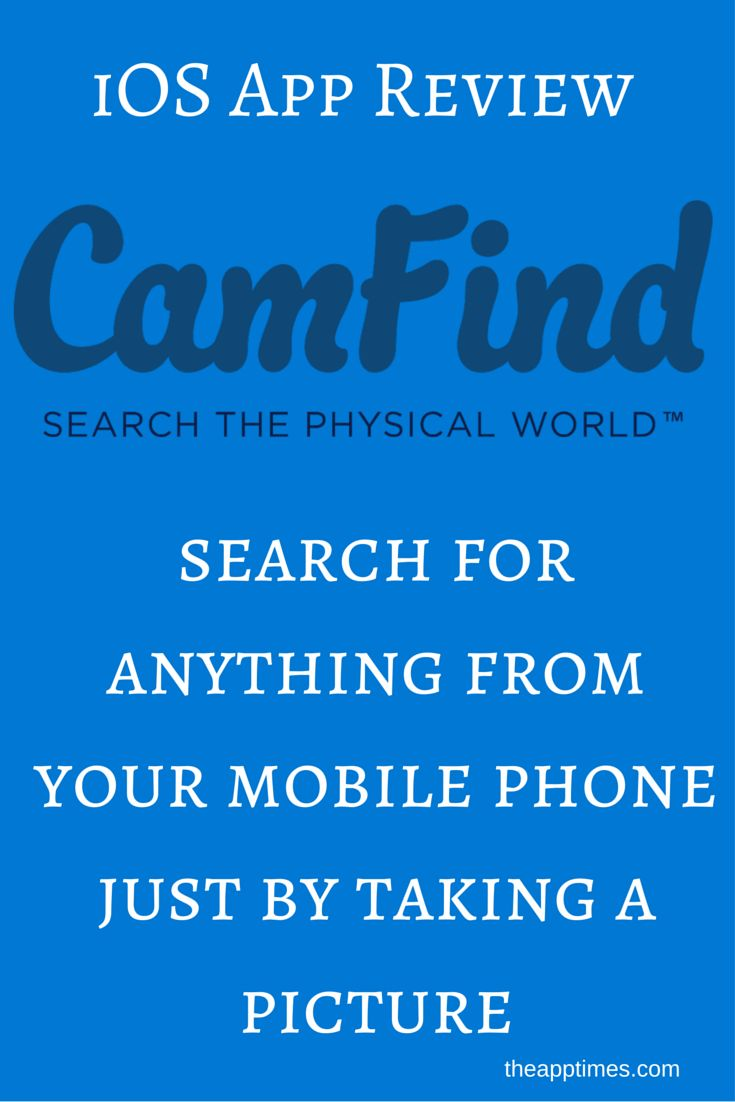 Check out CamFind, the iOS app that can take an image, like in a magazine or movie poster and perform a search to dig up what it can about that image.