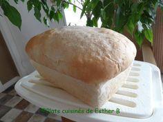 Un pain tout simple mais surprenant comme il est bon et bien dodu! La recette d'origine se fait à la main mais pourquoi pas profiter de...