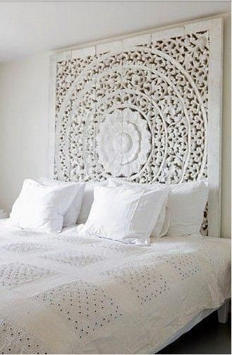 The 25 best Bed backboard ideas on Pinterest Beach headboard