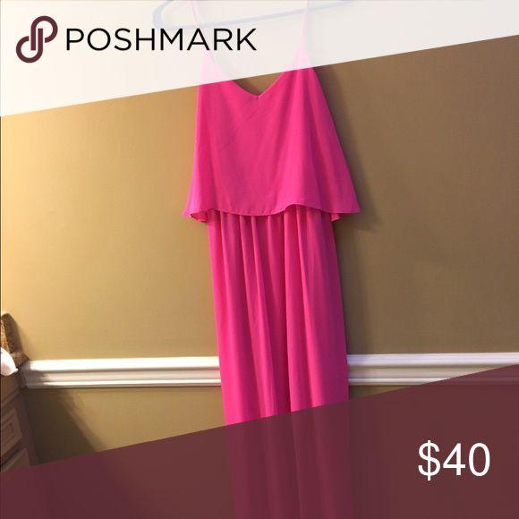 Pink blush maternity maxi NWT Pinkblush Dresses Maxi