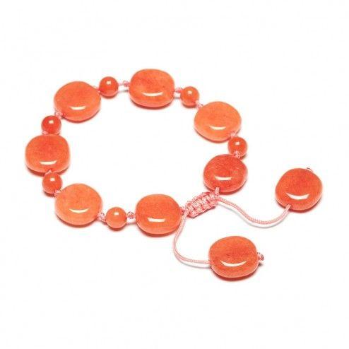Lola Rose Dendra Apricot Quartzite Bracelet at aquaruby.com