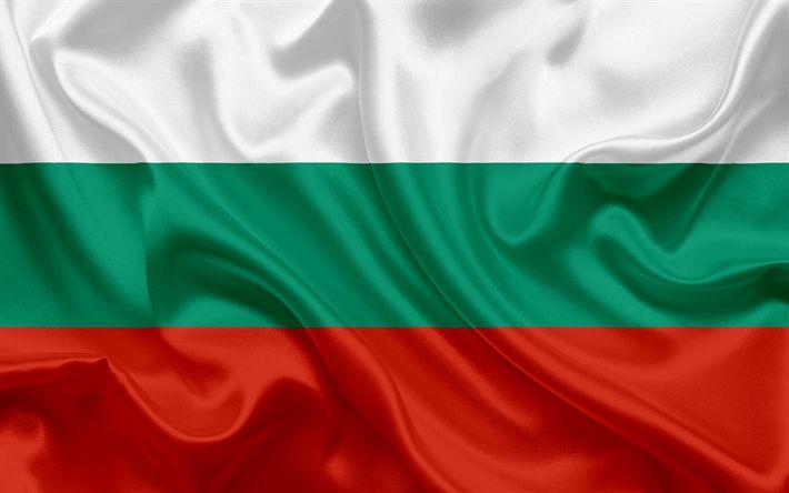Lataa kuva Bulgarian lippu, Bulgaria, Euroopassa, kansalliset symbolit