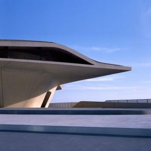 """Zaha+Hadid+Architects+completes+""""oyster-like""""+ferry+terminal+in+Salerno"""