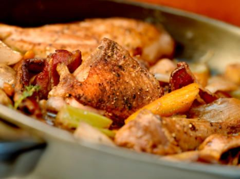 Preheat oven to 400F/200C/Gas Mark 6. With a sharp knife, slash thighs once on each side. Place in bowl and season with salt and pepper. In another bowl, mix the cinnamon, cumin, paprika, lemon juice and oil. Add to the chicken and toss to coat. Place thighs in a baking dish and dot with the butter,…