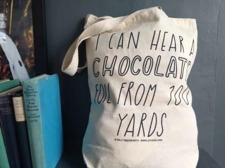 Chocolate Tote Bag - hardtofind.