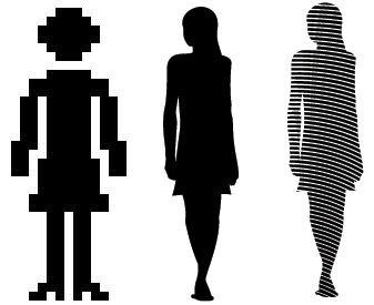Pictogramas mujeres