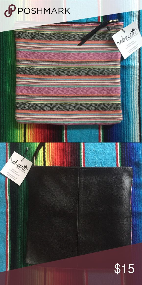 Boho Aztec Purse NWT. Fairly big! Can fit a ton of stuff (cosmetics, etc.) Bags