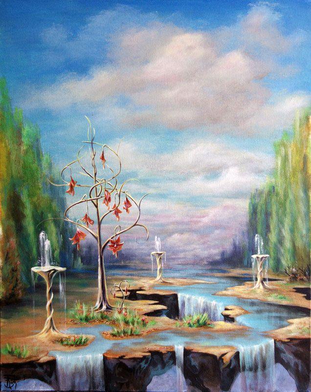 Картины МАГИЯ РУН. Trish: Сад дождей