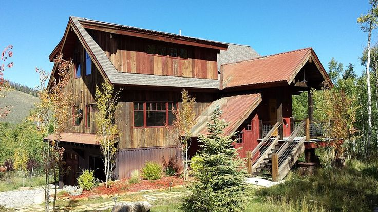 Built From The Wood Of An Authentic Grand County Farm Barn Near Rocky Mountain National