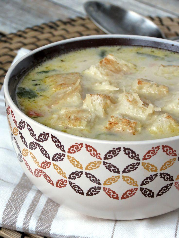 Comforting Chicken Florentine Soup