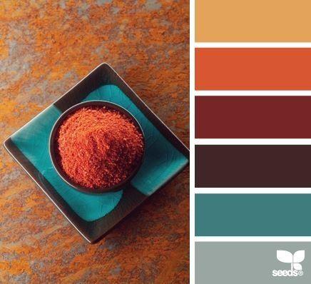Mediterranean Spice Colors