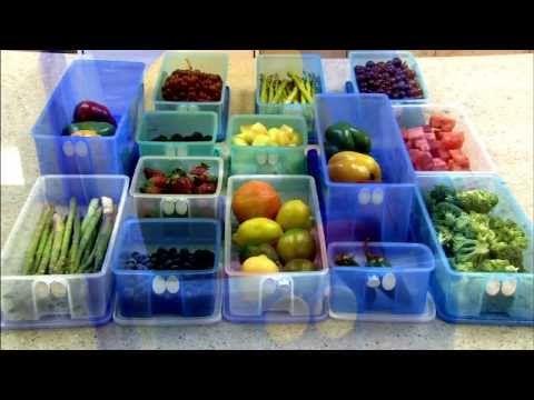 Tupperware FridgeSmart Container - YouTube