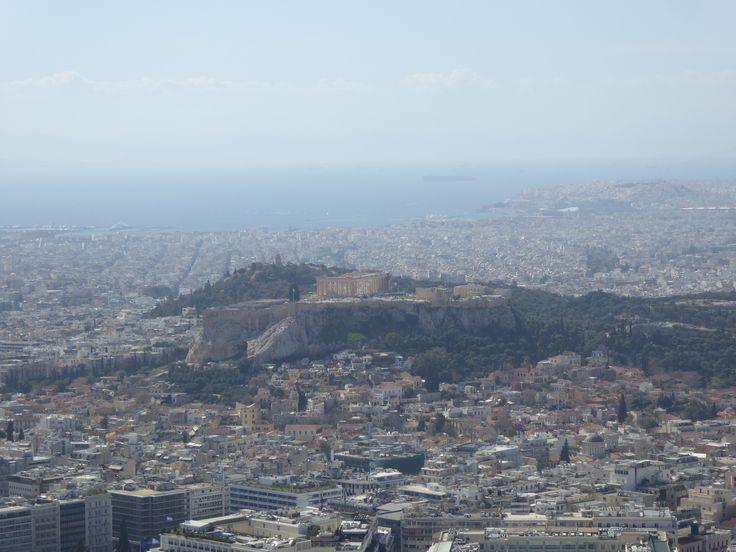 Fotografía: Rebeca Pizarro - Vistas desde Monte Licabetos- Atenas