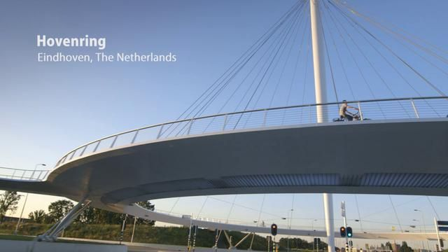 Film about bicycle bridge Hovenring