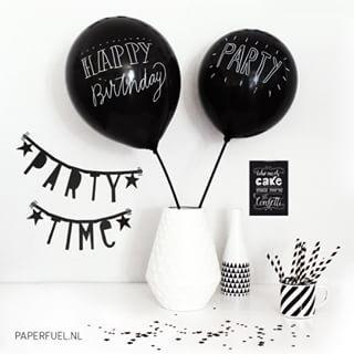 #Wordbanner #tip: Party time - Buy it at www.vanmariel.nl - € 11,95