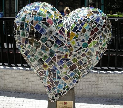 Mosiac Heart ~ San Francisco, Ca