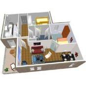 Logiciel de plan de maison et d'aménagement intérieur 3D gratuit - FrancoisCharron.com